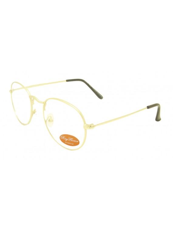 Jumi Retro Metal Frame Sunglasses, Clear Lens Asst