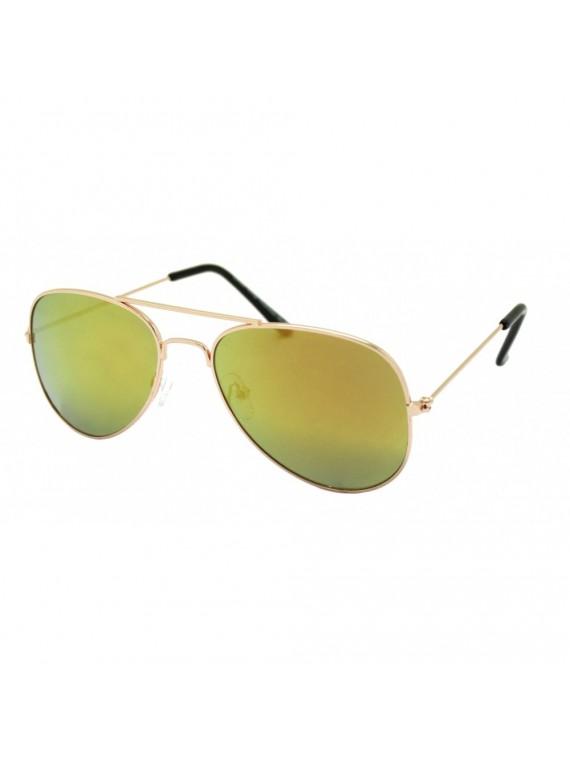 KIdi Giga Aviator Sunglasses, Kids Mirrored Lens Asst