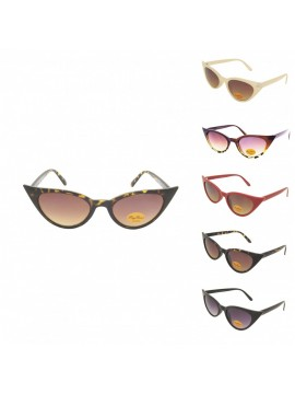 Urbum Happy Cat Eye Sunglasses, Asst