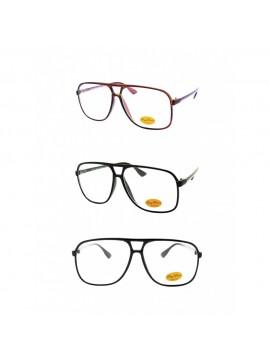 Ello Retro Sunglasses, Clear Lens Asst