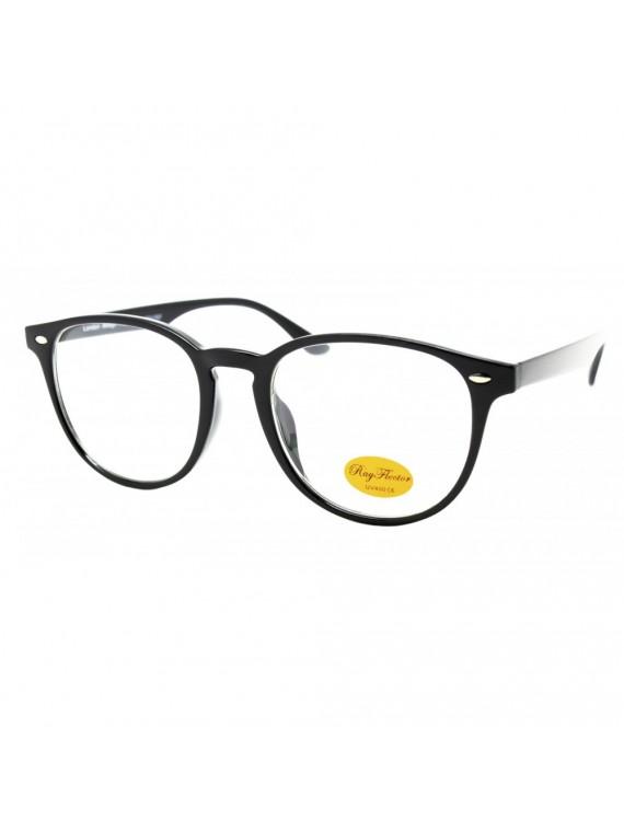Arri Retro Sunglasses, Clear Lens Asst