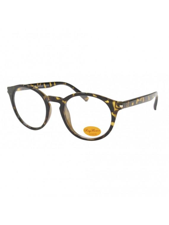 Choi Vintage Round Sunglasses, Clear Lens Asst