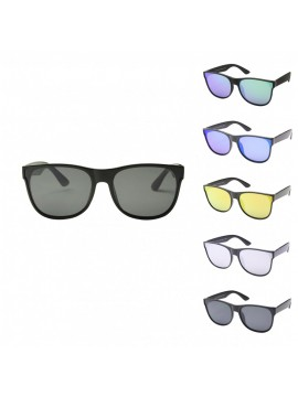 Jobri Fashion Sunglasses, Mirrored Lens Asst