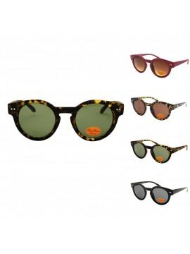 Pero Round Vintage Sunglasses, Asst