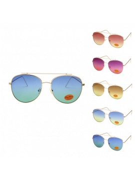 Mofy Fashion Vintage Metal Sunglasses, Asst