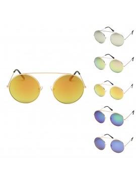 Deo Round Vintage Sunglasses, Asst