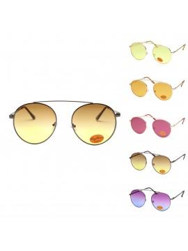 Keyo Vintage Metal Frame Sunglasses, Asst