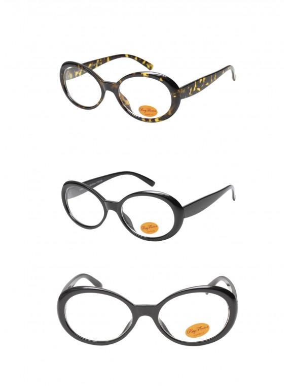 Larc Fashion Sunglasses, Clear Lens Asst