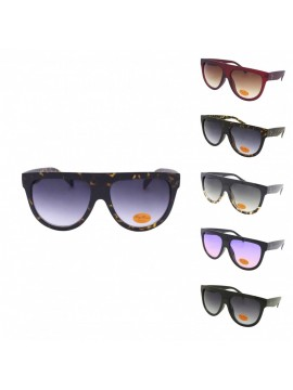 Orie Fashion Flat Top Sunglasses, Asst