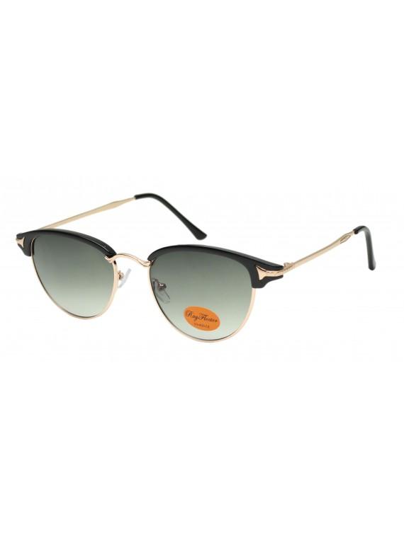 Faz Retro Clubmaster Style Sunglasses, Asst