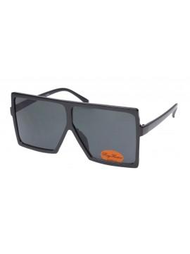 Gebo Oversized Square Fashion Sunglasses, Black