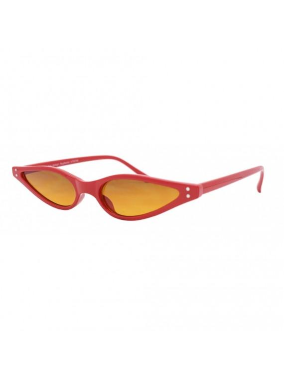 Eler Narrow Frame Cat Eye Style Sunglasses, Asst