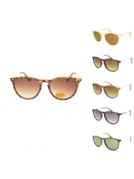 Ayhe Metal Arm Sunglasses, Asst