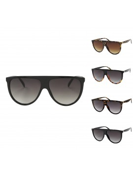 Nees Flat Top Vintage Sunglasses, Asst