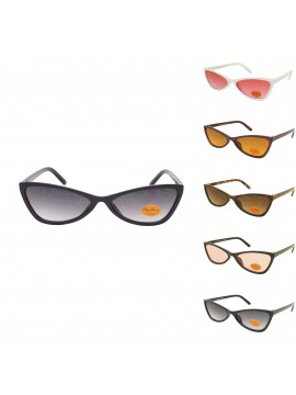 Keysia Cat Eye Style Sunglasss, Asst