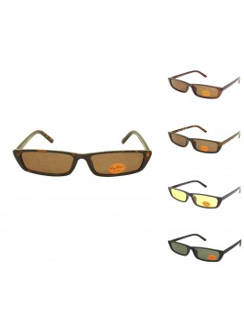 Coblie Flat Top Vintage Sunglasses, Asst