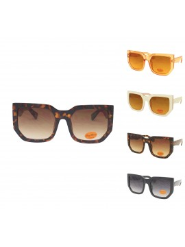 Yuki Oversized Fashion Sunglasses, Asst