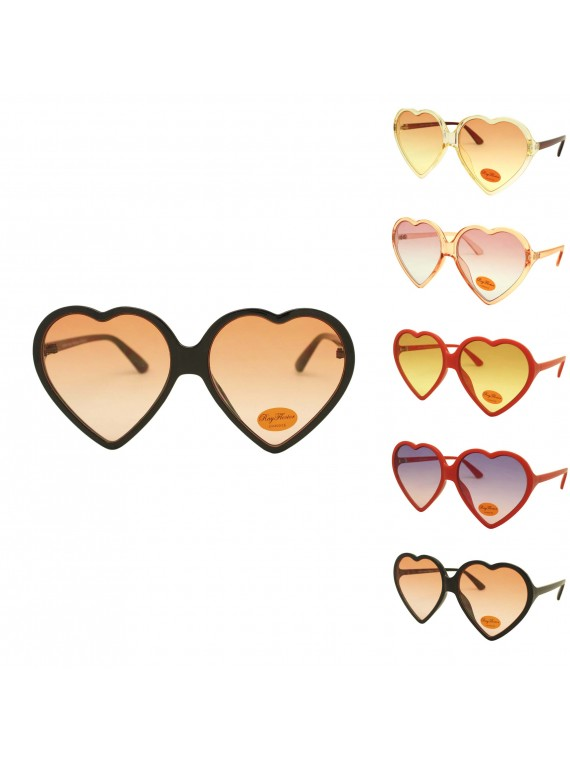 Aolr Heart Shape Party Sunglasses, Asst