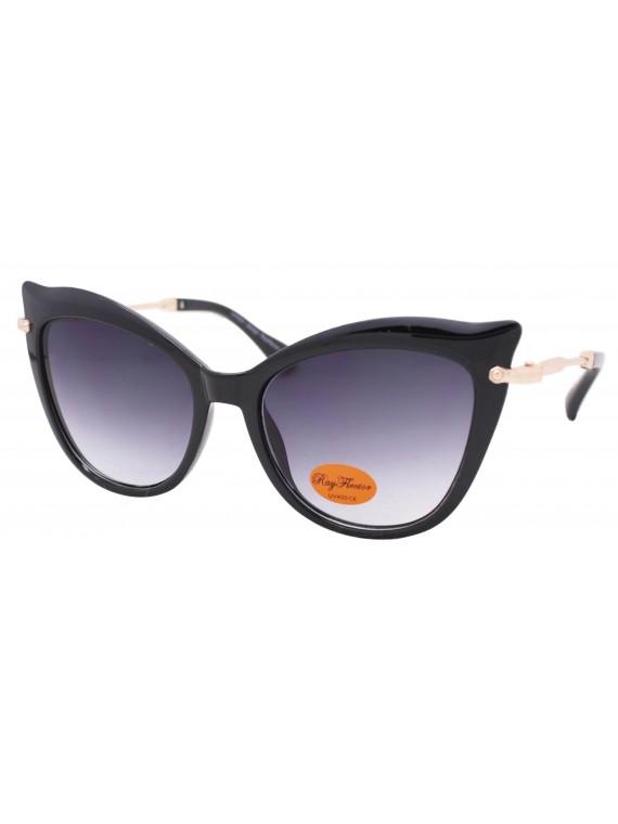 Izora Oversized Cat Eye Style Sunglasses, Asst