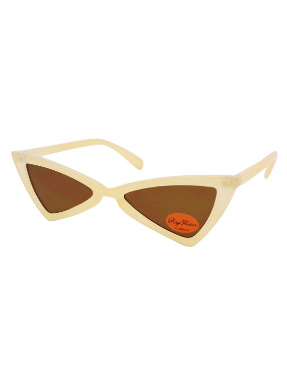 Corie Vintage Triangle Sunglasses, Asst