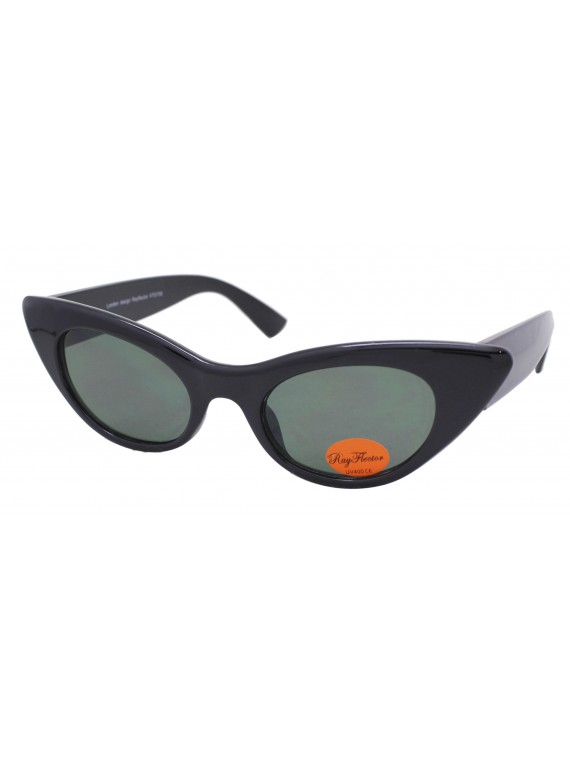 Tenni Cat Eye Style Vintage Sunglasses, Asst