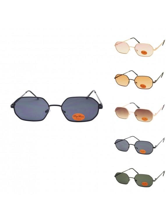 Peei Metal Frame Vintage Sunglasses, Asst