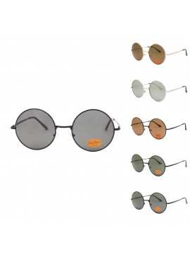 Lvaro Metal Frame Oversized Vintage Sunglasses, Asst