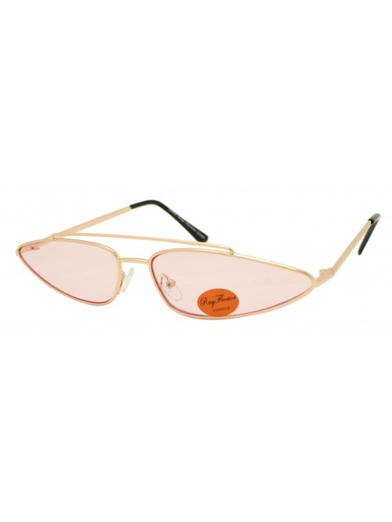 Eedi Fashion Metal Frame With Bridge Sunglasses, Asst