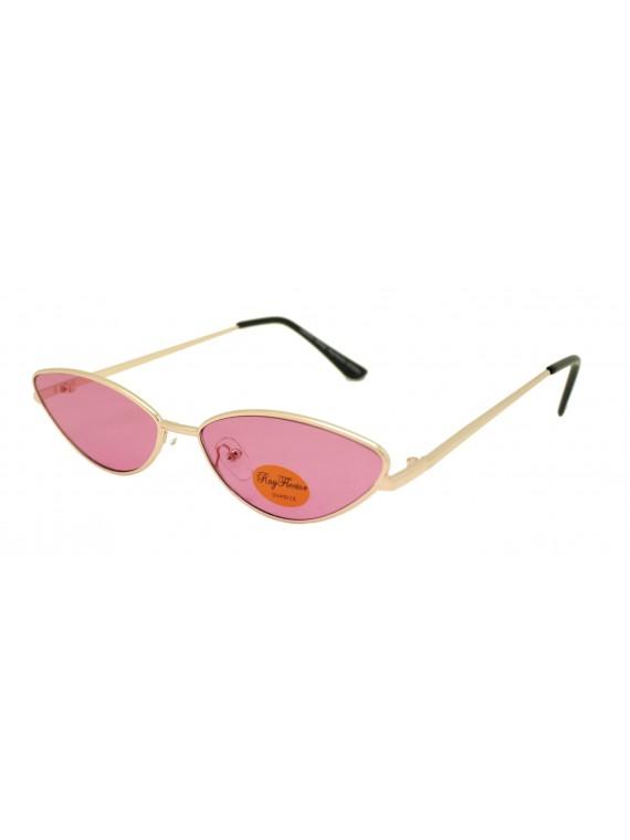 Abrey Retro Cat Eye Style Sunglasses, Asst