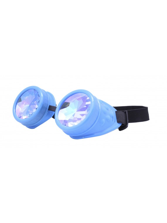 Renc Steampunk Goggles Sunglasses, Turquoise