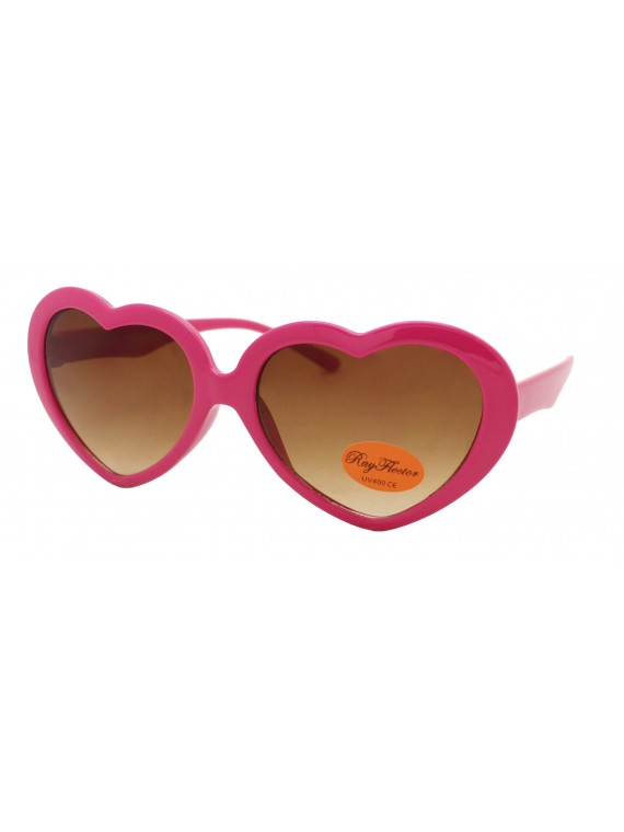 Kidi Charlio Heart Shape Sunglasses, Kids Asst