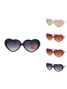 Kidi Charlio Heart Shape Sunglasses, Kids Asst