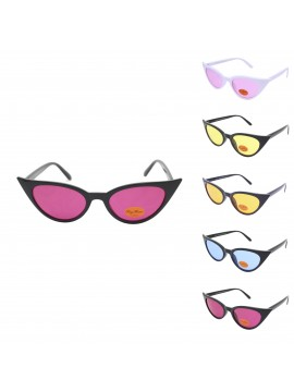 Iren Happy Cat Eye Sunglasses, Version 3 Asst