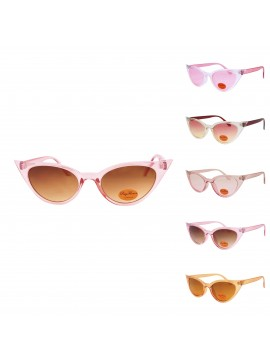Urbum Happy Cat Eye Sunglasses, Version 4 Asst
