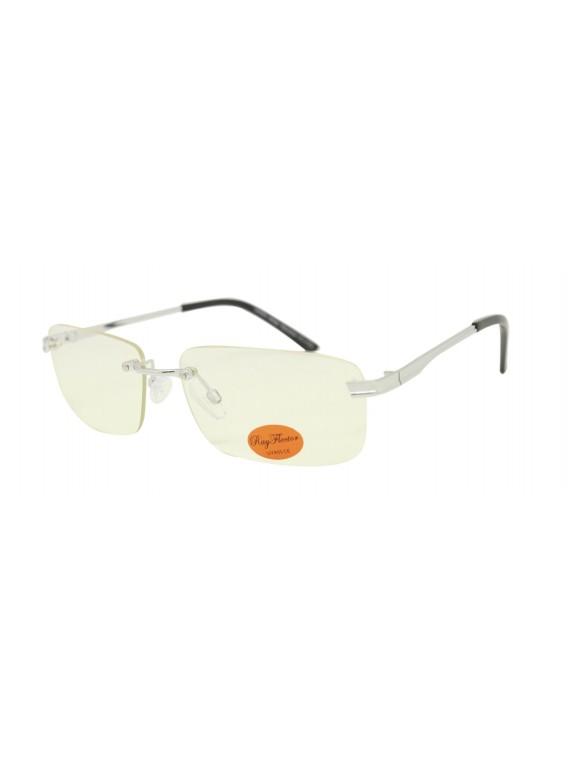 Orgi Wrap Round Retro Sunglasses, Clear Lens Asst