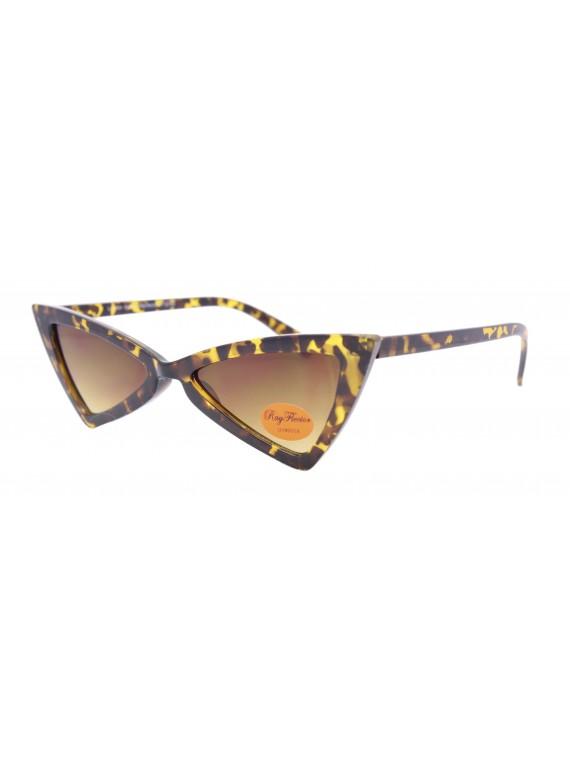 Corie Vintage Triangle Sunglasses, Asst