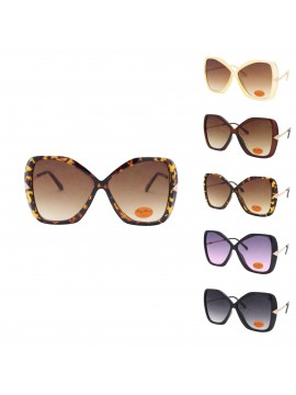 Lyra Oversized Fashion Sunglasses, Asst