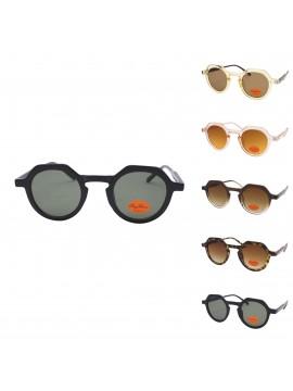 Meganie Fashion Vintage Round Lens Sunglasses, Asst