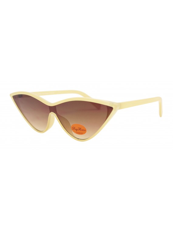 Nesta Retro Cat Eye Style Sunglasses, Asst
