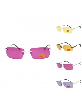 Innes Wrap Round Retro Sunglasses, Asst