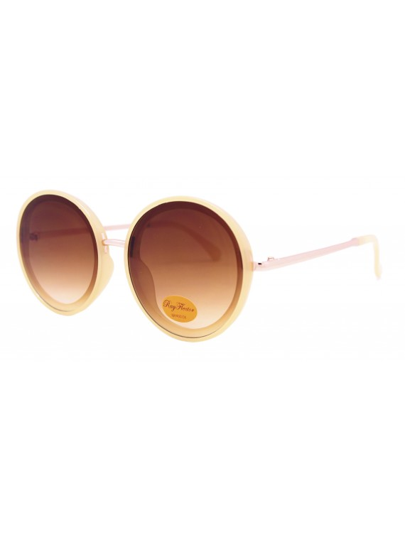 Tirsa Oversized Round Retro Sunglasses, Asst