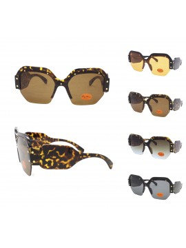 Sobio Oversized Fashion Sunglasses, Asst