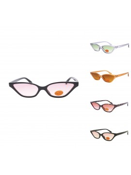 Licia Retro CatEye Style Sunglasses, Asst