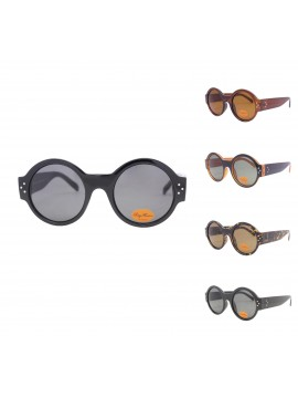 Mcie Oversized Round Fashion Sunglasses, Asst