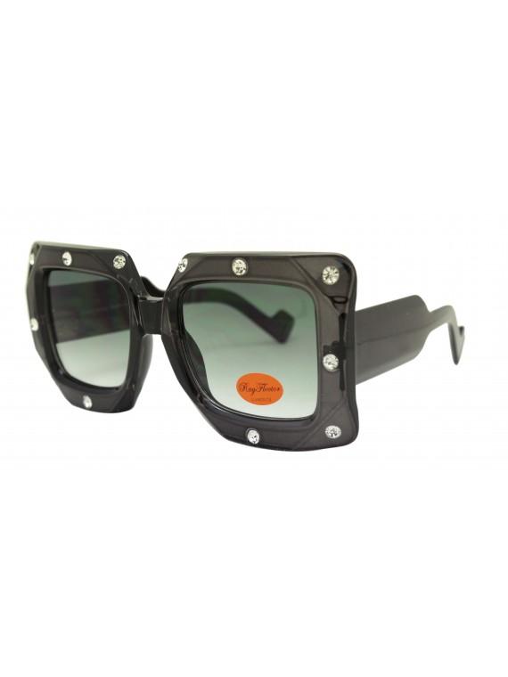 Icia Oversized Square Shape Fashion Sunglasses, Asst
