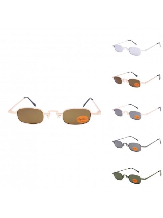 Frido Metal Frame Vintage Sunglasses, Asst