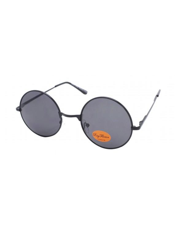 Kosie Retro Round Aviator Sunglasses, Asst