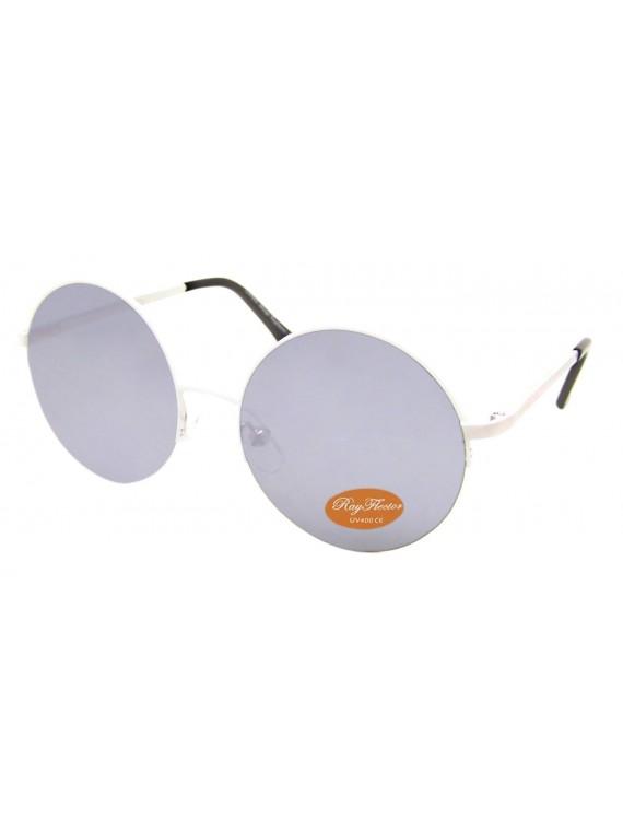 Hybrid Frame Round Sunglasses, Asst