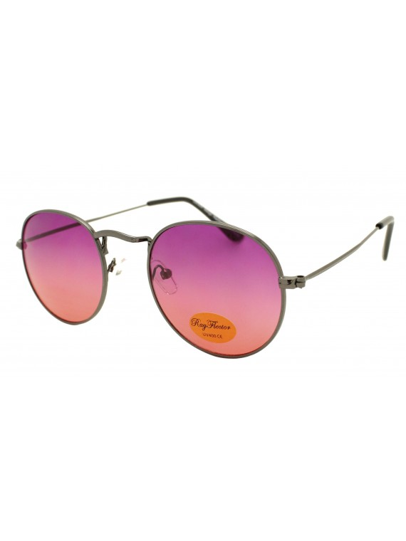 Milody Metal Frame Vintage Sunglasses, Version 2 Asst
