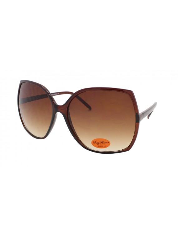 Meios Slim Frame Oversized Sunglasses, Asst